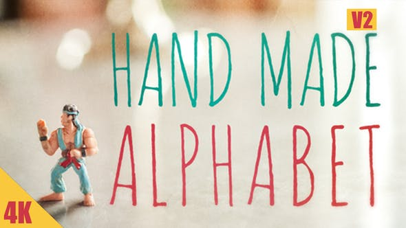 Thumbnail for Hand Made Alphabet V2