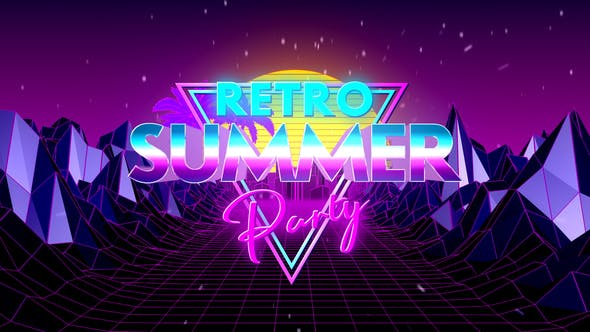 Cover Image for Retro Summer Party Opener