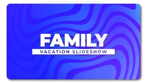 Thumbnail for Family Vacation Slideshow