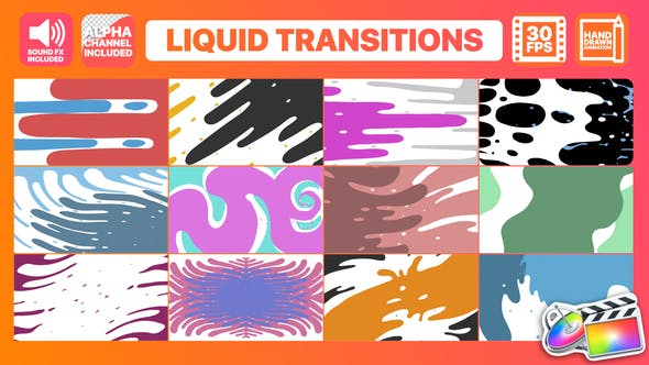 Thumbnail for Liquid Motion Transitions | Final Cut Pro