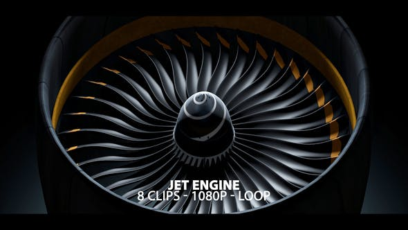 Thumbnail for Jet Engine Powering Up