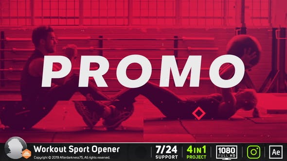 Thumbnail for Workout Sports Opener