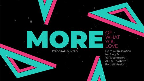 Do More Kinetic Typography Intro
