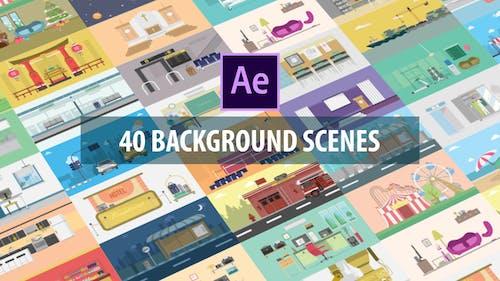 40 Mix Background Scenes