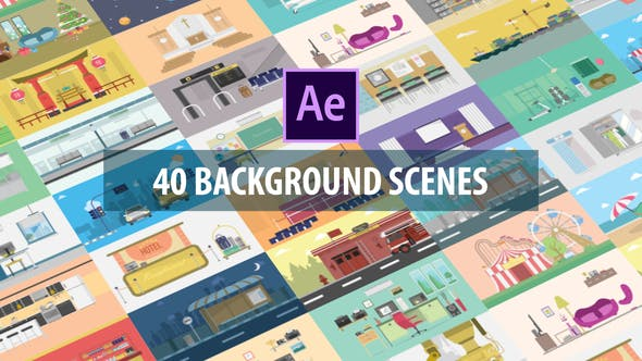 Thumbnail for 40 Mix Background Scenes