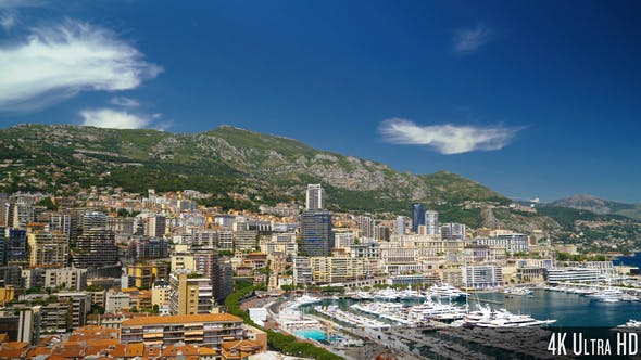 Cover Image for 4K Monaco Ville Cityscape