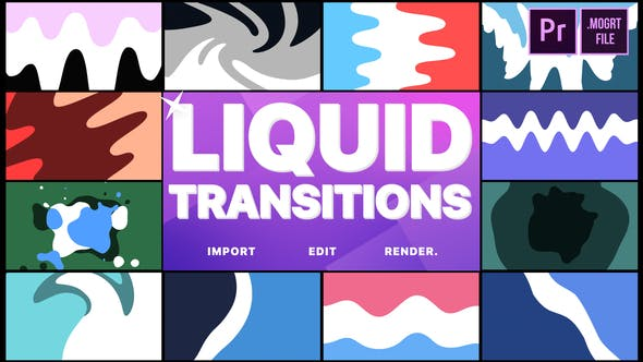 Thumbnail for Liquid Transitions | Premiere Pro MOGRT