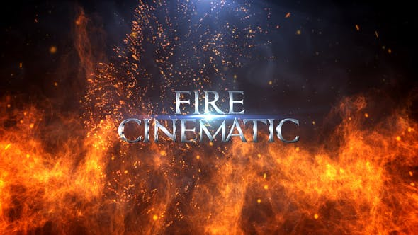 Thumbnail for Fire Cinematic Titles