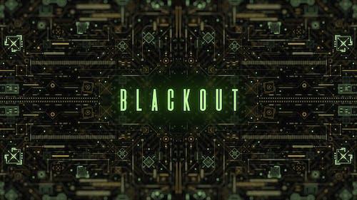 Blackout   3 Organic Technology Logo