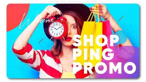 Thumbnail for Shopping Colorful Promo