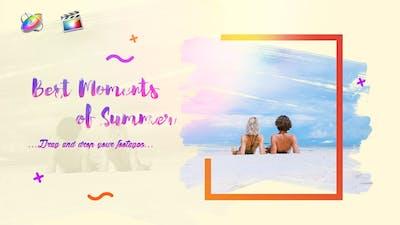 Summer Slideshow    Bright Opener