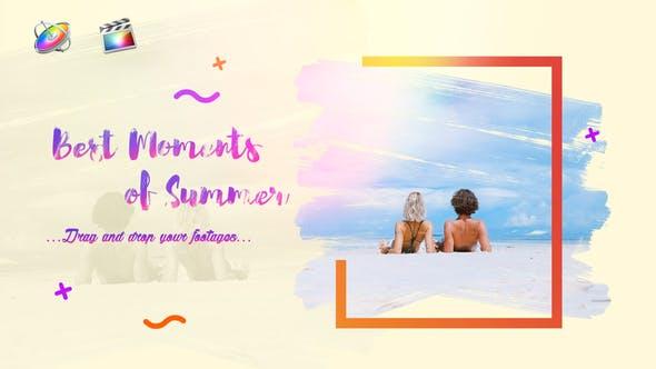 Sommer Slideshow || Bright Opener