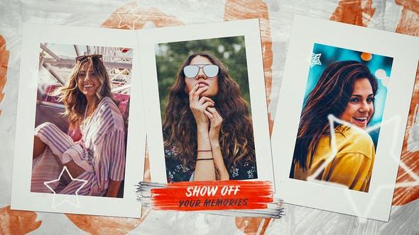 Thumbnail for Slideshow - Happy Moments Photo Slideshow