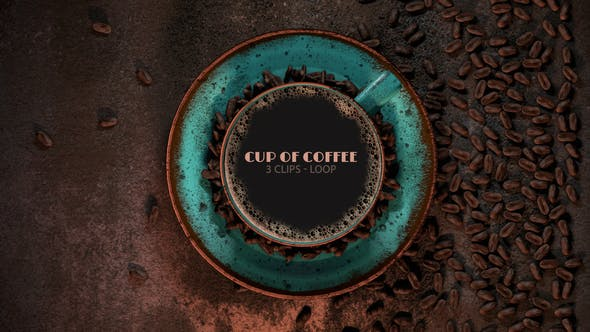 Thumbnail for Cup Of Coffee Opening Shot And Loop