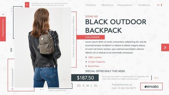 Thumbnail for Fashion Market Promo