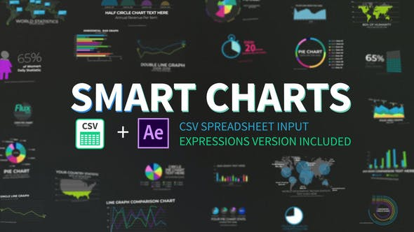Thumbnail for Graphiques intelligents CSV Infographies