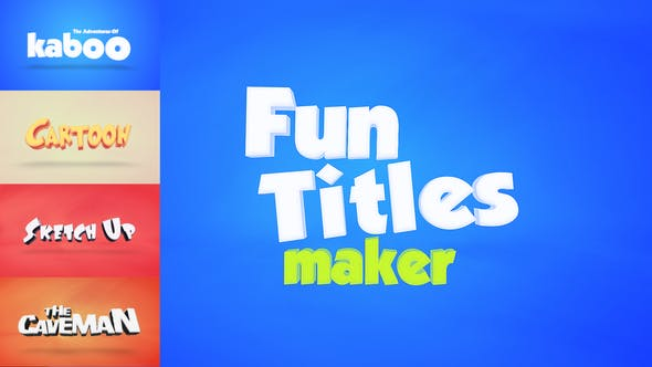 Thumbnail for Fun Titles Constructor