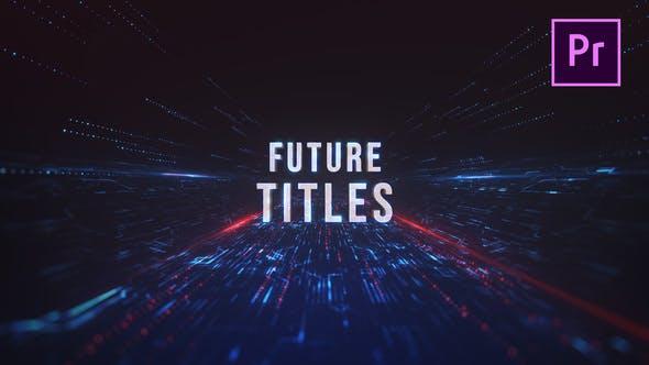 Thumbnail for Future Action Titles - Premiere Pro