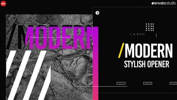 Thumbnail for Modern Stylish Opener