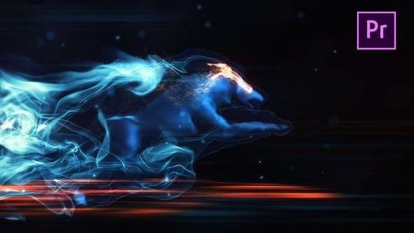 Magic Wolf Logo - Premiere Pro