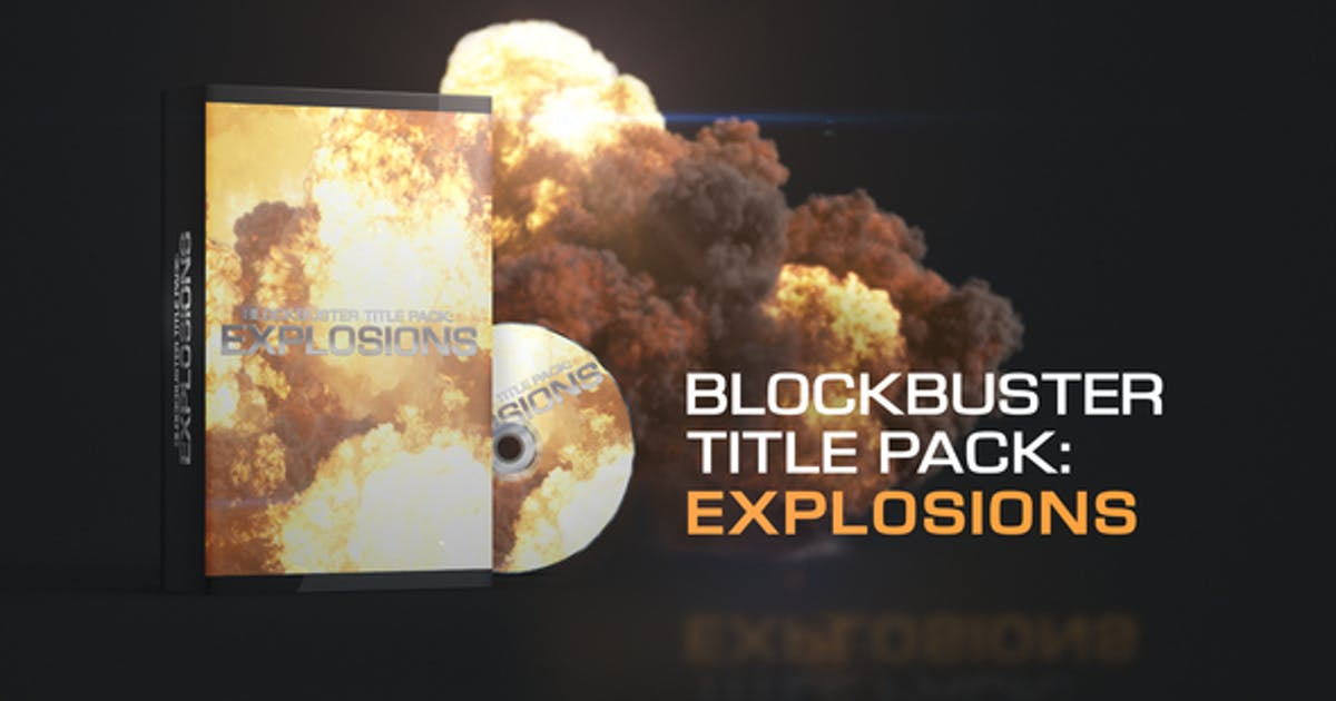 Download Blockbuster Title Pack: Explosions by Creattive