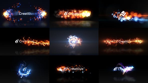 Thumbnail for Quick Logo Sting Pack 07: Energetic Particles