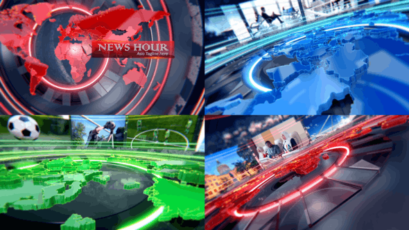 Thumbnail for News Hour / News Intro