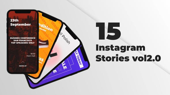 Thumbnail for Instagram Stories Collection Vol2.0