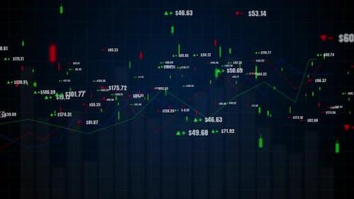 Candlestick Graph Chart