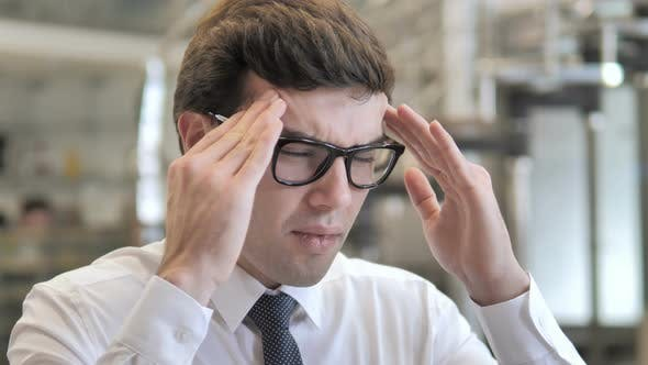 Thumbnail for Headache, Tense Businessman