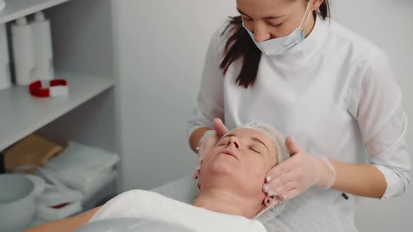 Lymphdrainage-Technik