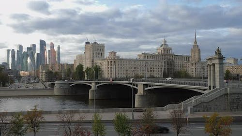 Russia,  Moscow,  View on the City Center