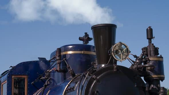 Thumbnail for Old Steam Locomotive Acting