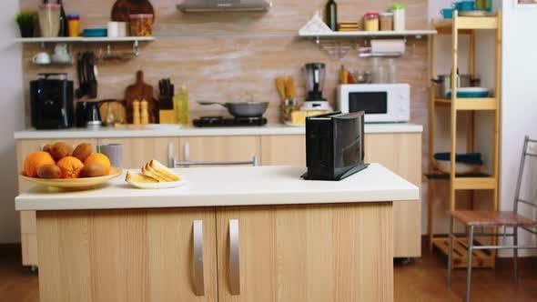 Coffee Machine in Kitchen