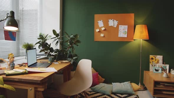 Interior of Comfortable Home Office