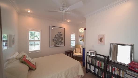 White Residential Bedroom