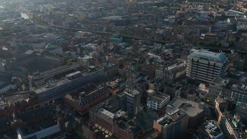 Fly Above City