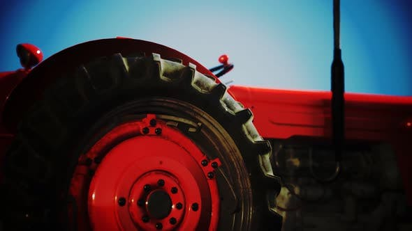Thumbnail for Old Vintage Retro Tractor