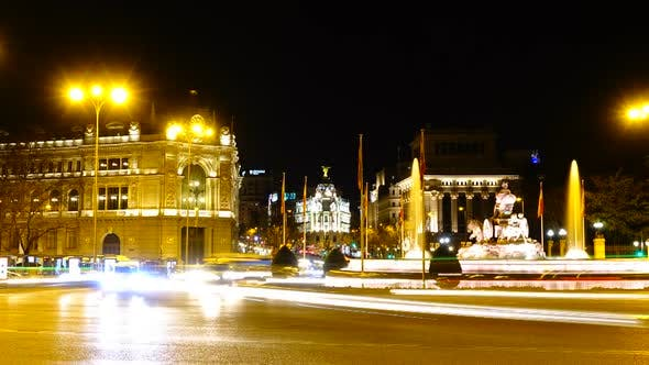 Thumbnail for Cibeles Fountain in Madrid