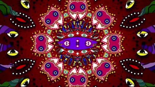 Fraktale psychedelische