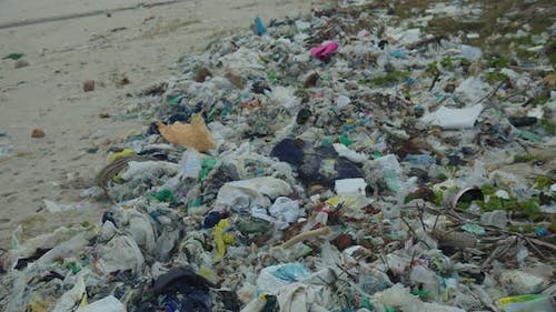 Plastic Pollution Pile of Stink and Toxic Residue