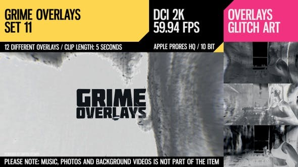 Thumbnail for Grime Overlays (2K Set 11)