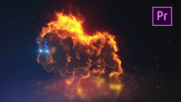 Thumbnail for Lion Spirit Logo - Premiere Pro