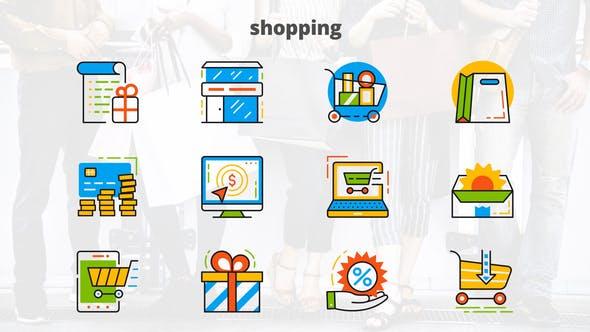 Shopping - Flat Animated Icons
