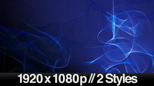 Abstract 3D Vector Wave Pattern Lines - 2 Styles
