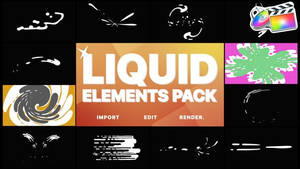 Cover Image for Liquid Motion Elements And Transitions | FCPX