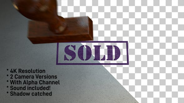 Cover Image for Sold Stamp 4K - 2 Pack