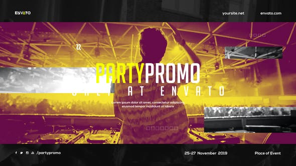 Thumbnail for Music Event Promo / Dynamic Opener / Party Invitation / EDM Festival / Night Club