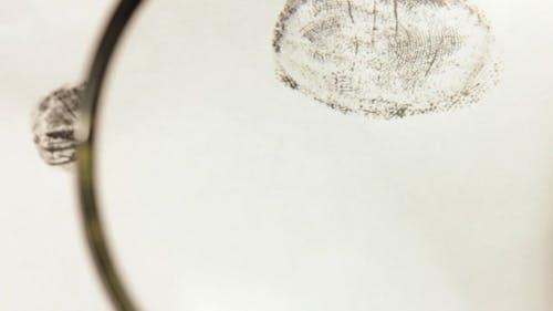 Investigating Fingerprints With Magnifying Glass