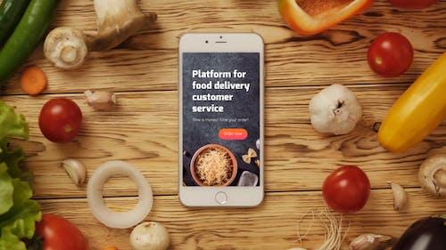 Food App Logo Reveal